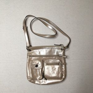 Giani Bernini Silver Crossbody Purse